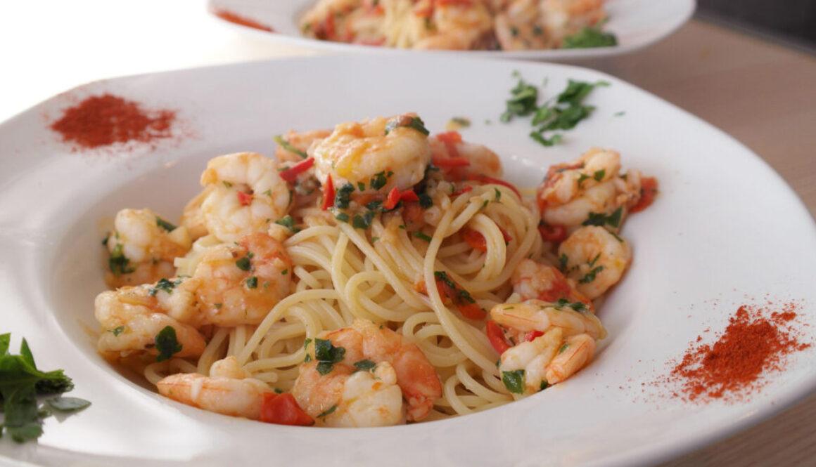 Spaghetti Shrimp Summer Promo