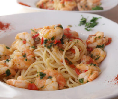 Spaghetti Shrimp Summer Promo